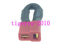 1pce T-Plug Female Shorting Plug Battery Eliminator Adapter 12AWG Wire Jumper