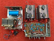 70s AMPLIFICATORE STEREO A TRANSISTOR Hacker, COMPLETO, grande progetto