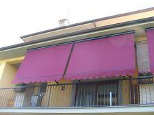Tenda da sole balcone protetta con cassonetto su misura tessuti Para'