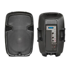 1 New PPHP123MU 12'' 1000Watt Powered 2-Way PA Speaker w/ MP3/USB SD/3.5mm input