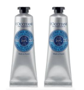 20%OFF L'Occitane Shea Butter Hand Cream 30mlx2 Best Selling Hand Cream Nourish