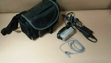 Sony Handycam Carl Zeiss Vario-Tessar Camcorder DCR-SR47 60x Optical Zoom