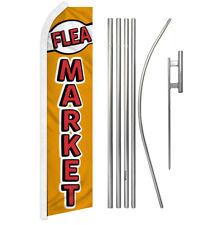 Flea Market Advertising Swooper Flutter Feather Flag Kit Swap Meet Consignment