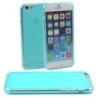 5 x BLUE CASES FITS APPLE iPHONE 6 SOFT SILICONE GEL:TPU COVER PROTECTION M39