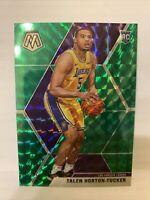 Talen Horton-Tucker 2019-20 Panini Mosaic Green Mosaic Prizm RC #215 Lakers