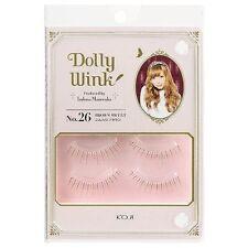 """KOJI☆Japan-Dolly Wink False Eyelash produced by TSUBASA """"No.26 Brown Sweet"""""""