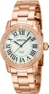 Invicta 14718 Angel Royale Diamond Swiss Accented Rose Womens Bracelet Watch