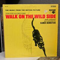 "WALK ON THE WILD SIDE Movie Soundtrack - 12"" Vinyl Record LP - EX"
