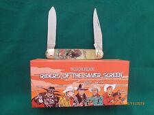 Zorro Pocket Knife Moose Pattern Riders of the Silver Screen - NIB