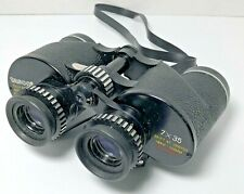 Tasco Fully Coated Binoculars Model No 116 Feather Weight 7X35 With Carry Case