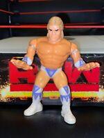 WWE LEX LUGER HASBRO WRESTLING ACTION FIGURE WWF SERIES 8 missing finger