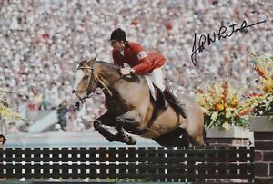JOHN WHITAKER HAND SIGNED 12X8 PHOTO OLYMPICS AUTOGRAPH LOS ANGELES 1984 5