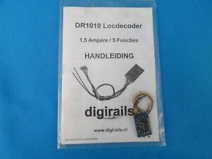 DIGIrails DR1010 Loc decoder 1,5 amp.