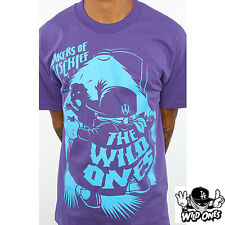 The Wild Ones Mschf Skate T-Shirt Tee Purp  NEW NWT RT:$26  Snow Surf Streetwear