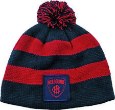 65166 MELBOURNE DEMONS AFL FOOTBALL KIDS BABY BEANIE