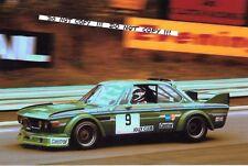 9x6 fotografia Carlo FACETTI JOLLY CLUB BMW 3.0 CSL, etc SALZBURGRING 1979