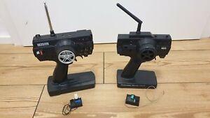 2x 2CH RC Fernsteuerung mit Empfänger 27 MHZ und 40 MHZ Model Craft