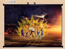 Anime Poster Dragon Ball Z Living Room Bedroom Mural Decor Wall Scroll 60*40cm