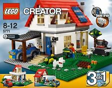 Lego Creator building Hillside House #5771