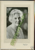 Antique Photo - Ontario, Oregon - Older Lady in Photographer Folder