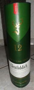 Glenfiddich Scotch  Whisky Dose -  leer - Sammler - Kellerbar - Deko