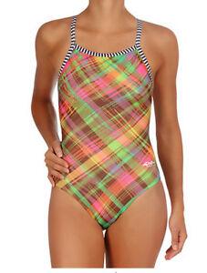 Size 22 Dolfin Uglies Swimsuit Girls Womens New w/tags 9502 L S Preppy 203 $40