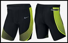 $110 S~M~L~XL~2XL Nike Power Speed DriFit Running Pro Training 1/2 Tights Shorts