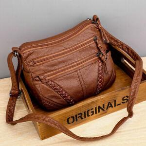 Ladies Cross Body Messenger Bag Women Shoulder Over Bags Handbags Soft leather