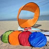 "Foldable Kayak Boat Wind Sail Sup Paddle Board Sailing Windpaddle Sailboat 42"""