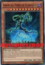 Yu-Gi-Oh Immortale Terrestre Ccarayhua LC5D-IT151 SuperRaro ITA Immortal   Nuovo