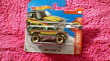 Hot Wheels - UK Card - #130 Chevy Blazer 4x4 - Metallic Green, Red & Yellow