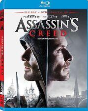 Assassins Creed (Blu-ray, 2017, 1-Disc Set, Includes Digital Copy)