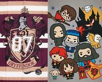 Official Harry Potter Licensed Fleece Blanket Bed Throw Hogwarts Muggles
