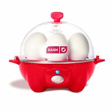 Dash Go Rapid Egg Cooker, Red