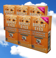 Ethos Eye Drops for Dogs 6 Boxes 60ml Bright Eyes for Pet's Cataracts