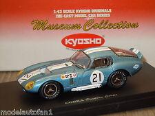 Cobra Daytona Coupe 1966 Japan GP van Kyosho 1:43 in Box *16112