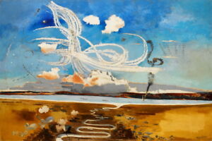 Paul Nash Battle of Britain Giclee Art Paper Print Poster Reproduction