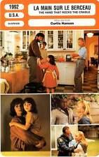 FICHE CINEMA : LA MAIN SUR LE BERCEAU - De Mornay1992 Hand That Rocks The Cradle