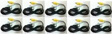 10 Lot New Rca Av A/V Audio Video Cable Cords for Sega Genesis 1 System Console