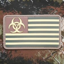 3D PVC ZOMBIE NATION THE WALKING DEAD MULTICAM VELCRO® BRAND FASTENER PATCH