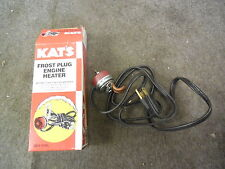 NEW KAT'S K4SR ENGINE HEATER FROST PLUG 400 WATTS 120 VOLTS # 10420