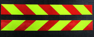 Self Adhesive Side Chevrons Reflective 900mm sickers