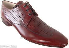 ZENOBI GOODYEAR WELT WINGTIP OXFORDS ITALIAN DESIGNER MENS SHOES NEW EU 41