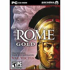 Europa Universalis: Rome Gold ( PC GAME ) NEW SEALED