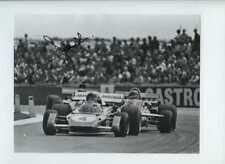 Jacky Ickx Ferrari 312 B2 British Grand Prix 1971 Signed Press Photograph 3