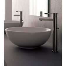 Scarabeo Sfera above counter bathroom sink in white 8009 Wash Basin NEW