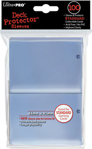 x100 Count Ultra Pro Deck Clear Protector Sleeves Standard