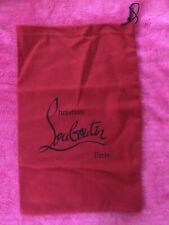 Authentic Christian Louboutin Dust Bag