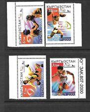 KYRGYSTAN Sc 142-45 NH ISSUE of 2000 Sport - Olympics