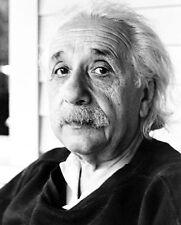 PHYSICIST ALBERT EINSTEIN PORTRAIT 8x10 SILVER HALIDE PHOTO PRINT
